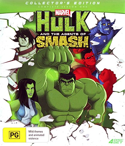 Hulk And The Agents Of SMASH Season 1 Collector's Edition | NON-USA Format | PAL Region 4 Import - Australia