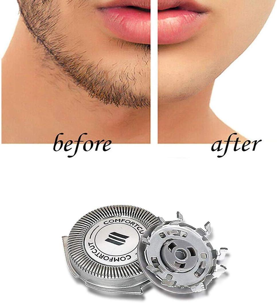 Poweka SH30/52 - Cabezal de repuesto para afeitadora Philips Norelco Serie 3000 2000 1000 S5210 S5230 S5310 S5355 S301 S330 S1125 S1175: Amazon.es: Salud y cuidado personal