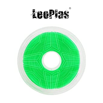 LeoPlas New Store USA Warehouse - Filamento ABS translúcido (1,75 ...