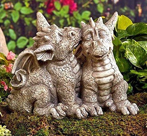 Dragon Garden Statue Couple NEW --P#EWT43 65234R3FA423981 Review