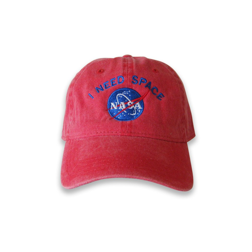 1f9e17b002f Amazon.com  I Need Space Cap Baseball Cap Dad Cap Nasa Cap Nasa hat I need  my space cap (Red)  Clothing