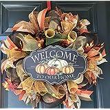 Thanksgiving wreath, fall wreath, thanksgiving decor, rustic wreath, farm house wreath, fall wreaths