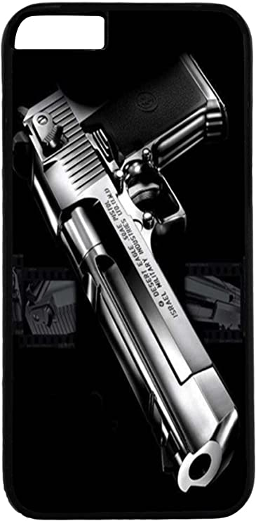 Cover di protezione per iPhone 6/6S – Immagine pistola polizia nero ...
