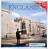 England - Classic ViewMaster - 3Reel Packet - 21 3D Images From the 1960's - Factory Sealed