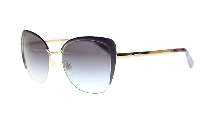55767416b4bdf Amazon.com  Dolce Gabbana Women Butterfly Sunglasses DG2143 12538G ...