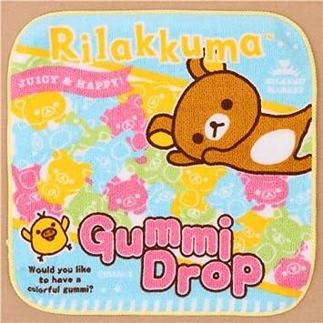 Toalla oso Rilakkumarket Rilakkuma bolsa gominolas fruta dulces de Japón: Amazon.es: Juguetes y juegos