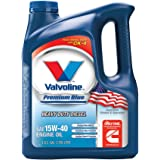 Valvoline Premium Blue SAE 15W-40 Heavy Duty Motor Oil - 1 Gallon (Pack of 3); 773780