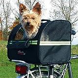 Trixie Biker-Bag (14 × 11 × 11.5ins) (Black)