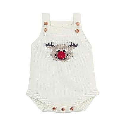 Qiusa Ropa Infantil Unisex para bebés recién Nacidos bebés 4fa26e63c82