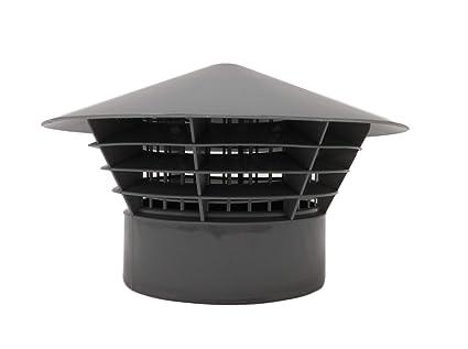 Sombrero de lluvia de 110 mm - parrilla - jaula para - Sombrero de tubo de