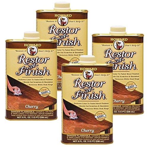 Howard Restor-A-Finish Cherry 8oz (4-Pack)