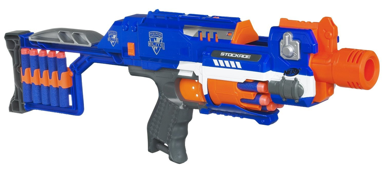 Nerf - Elite Stockade de 10 dardos, Arma de juguete (Hasbro 98695148) product image