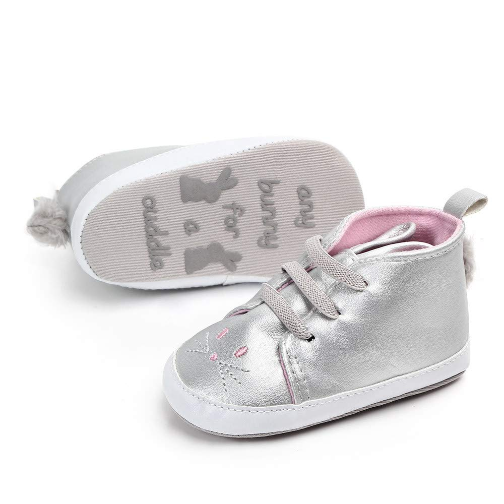 Wheel Shoes,Cute Baby Girls Newborn Infant Baby Rabbit Casual First Walkers Toddler Shoes,
