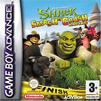 Shrek Smash n Crash Racing (GBA) by ACTIVISION: Amazon.es ...