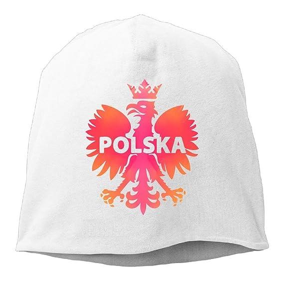 Colorida Polonia Polska Eagle Gorros Gorra para Hombre Mujer Blanca ...