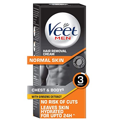 Buy Veet Hair Removal Cream For Men Normal Skin 50g Online At