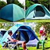 NTK-Oregon-GT-2-to-3-Person-5-by-7-Foot-Outdoor-Dome-Family-Camping-Tent-100-Waterproof-2500mm-Easy-Assembly-Durable-Fabric-Full-Coverage-Rainfly-Micro-Mosquito-Mesh