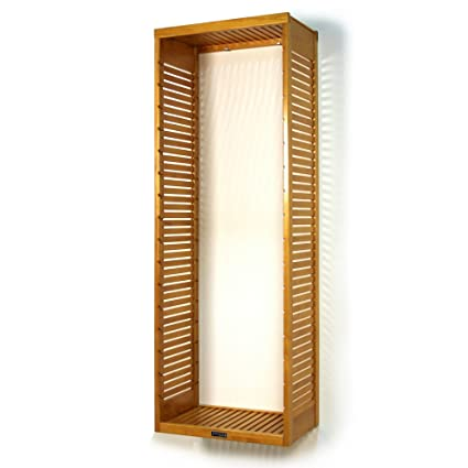 John Louis Home JLH 610 Deluxe Stand Alone Tower, Honey Maple