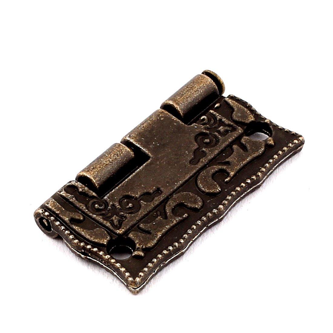 Sourcingmap/® case Jewelry Box stile antico cerniere Bronze 6pcs