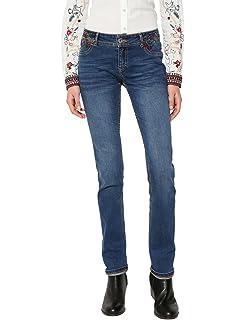 Desigual Denim_refriposas, Slim para Mujer, (Jeans Vaquero ...