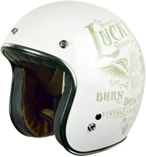 Origine Primo Flying Wheel - Casco de moto blanco brillo,