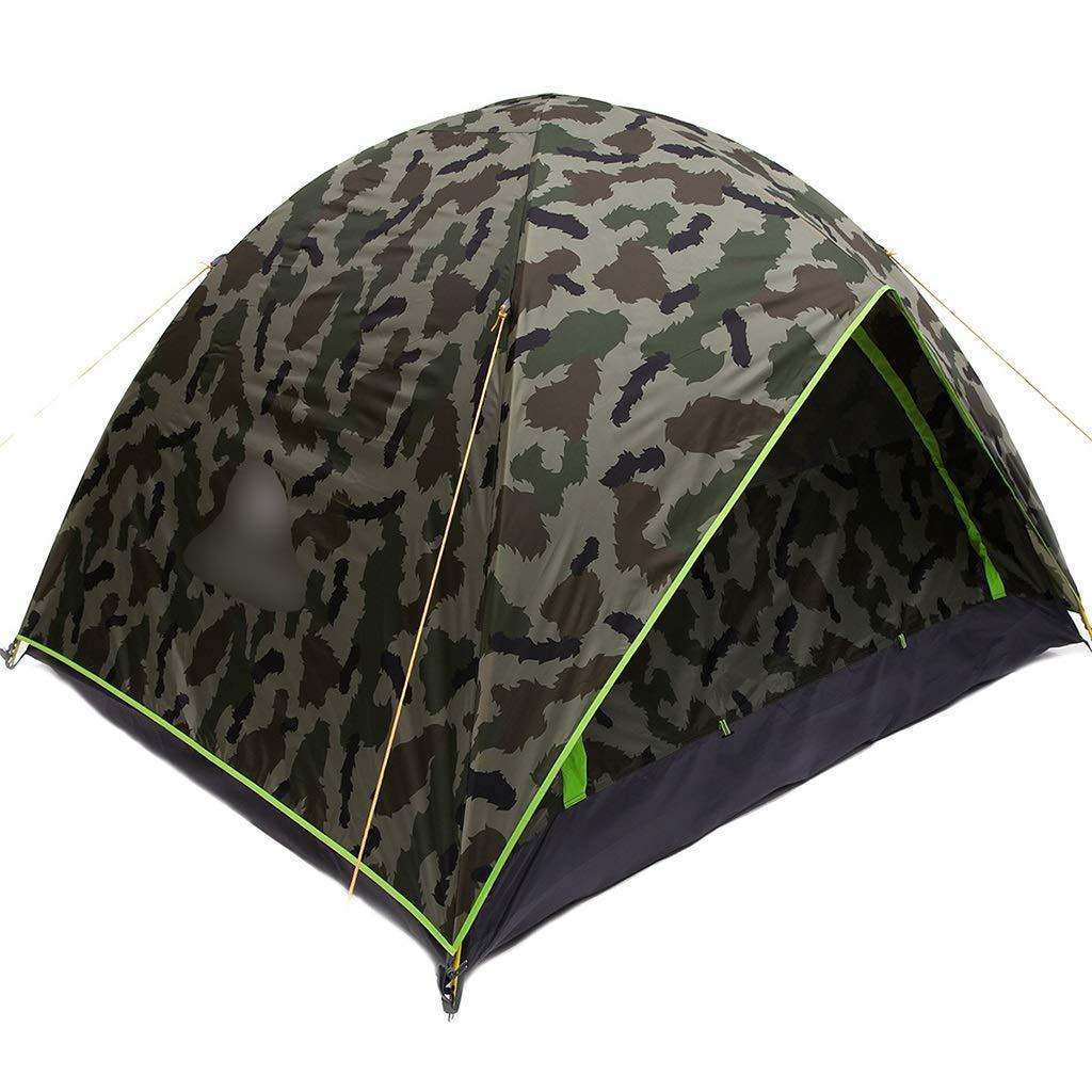 YaNanHome Im Freien Zelt Zelt Freien des Zeltes Starkes regendichtes Zelt 2-3 Leute Wildes kampierendes Zeltpaarzelt, Das Zelt wandert (Farbe : Multi-Farbeed, Größe : 210  180  140cm) 6aa3d7