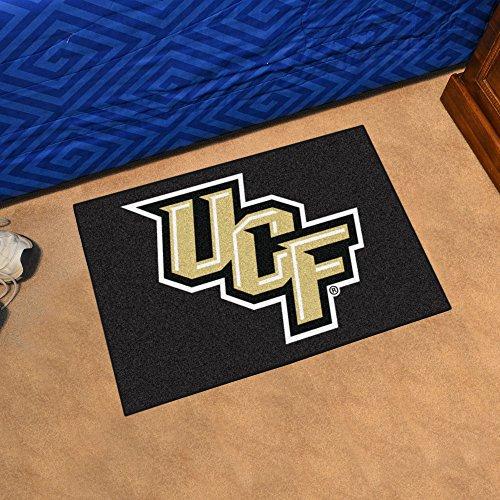 FANMATS NCAA University of Central Florida Knights Nylon Face Starter Rug ()