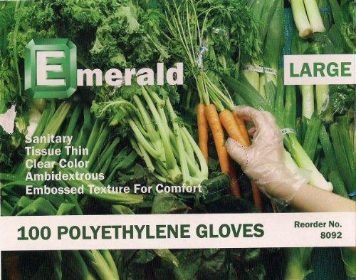 Emerald 8092 Polyethylene Gloves