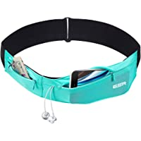 ESR Running Belt Runners Waist Pack Adjustable Stretchy Zippered Fanny Pack with Headphone Port, Fitness Workout Travel…