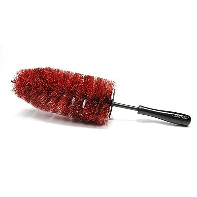 Maxshine PP-Short Handle Car Wheel and Rim Brush, Home/Office Clean Brush, Length: 45cm: Automotive