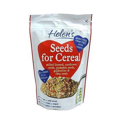 Semillas de Helen de cereal molido Linaza con Gojiberry y Chia 230g Semillas
