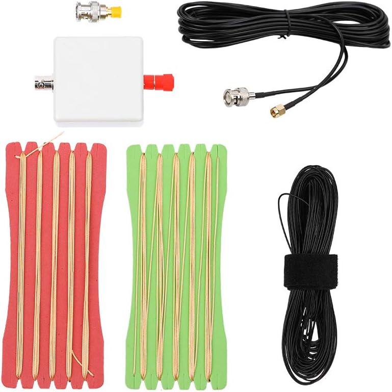 KKmoon LW1650 Antena de onda corta pequeña y portátil, larga y liviana, 1.6-50 MHz