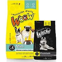 Woow, Combo Saco Mini de 15k más 1 saco1 Premium de 1kg, Alimento para Perro, croquetas para Perro, formulado para…