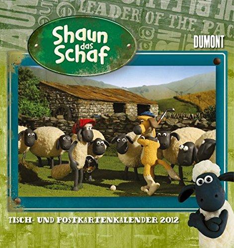 Shaun das Schaf - Tisch- und Postkartenkalender 2012