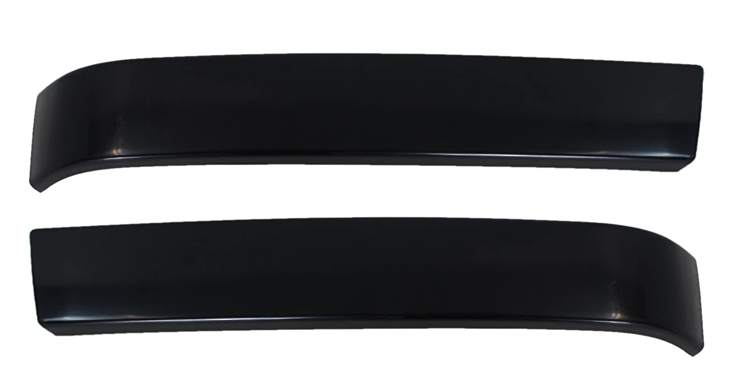 Chevy Pick Up Truck 03-07 Right & Left Pair Set Grille Molding Black Auto Lighthouse