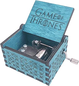 YouTang Caja de Música de Juego de Tronos, manivela de Mano, Caja Musical Tallada de Madera, Juego de la Canción de Juego de Tronos: Amazon.es: Juguetes y juegos