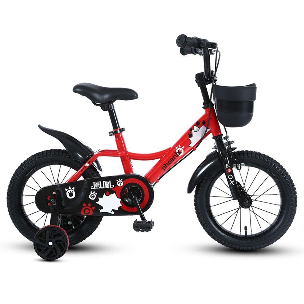 子供の自転車3-5-7-9歳の男の子のサイクリング14/16/18インチの子供三輪の自転車マウンテンバイクレッド ( Size : 16 inches ) B07DS5XY4F