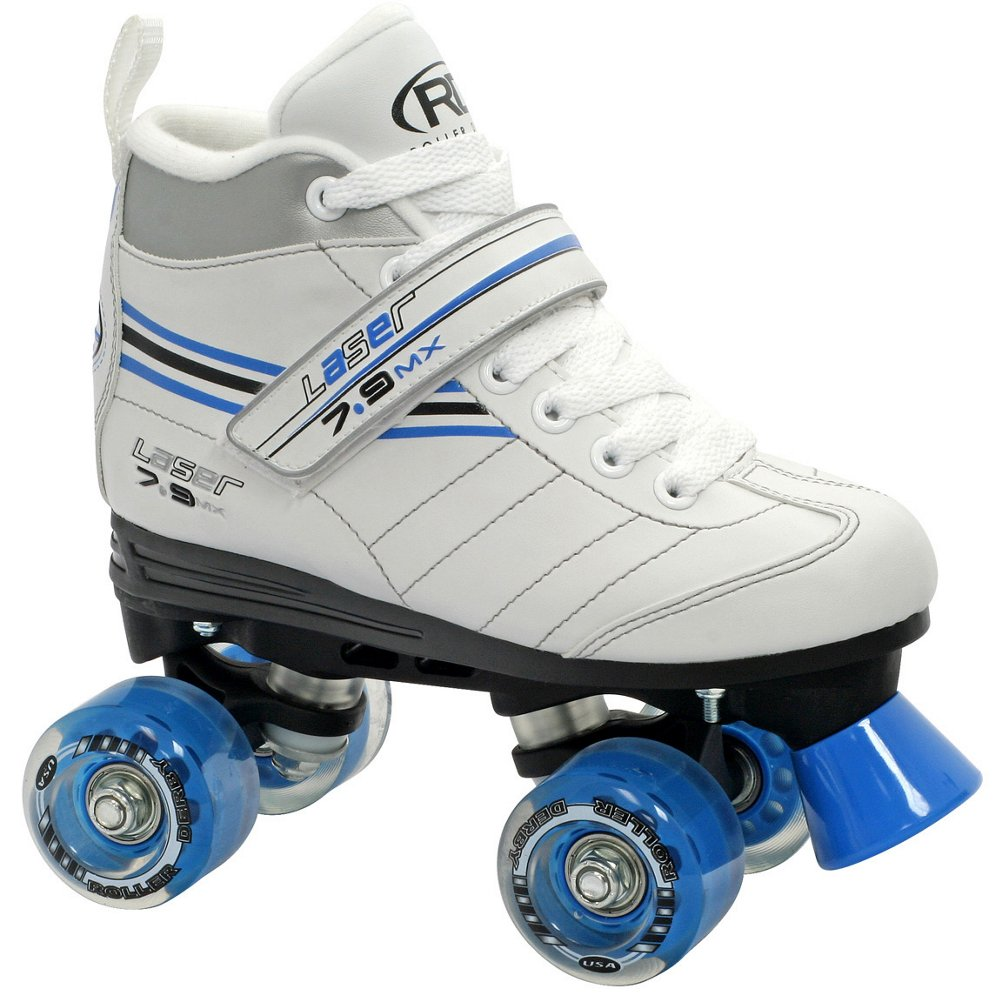 Roller Derby Laser 7.9 MX Girls Speed Roller Skates – 8.0