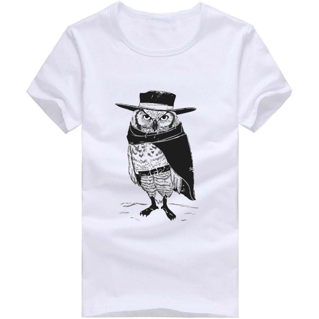 ElecentyT-Shirt di Moda della Maglietta del Cotone del Manicotto del Bicchierino della Camicia delle Camice di Stampa