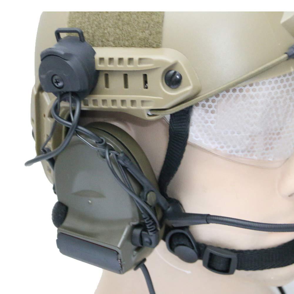 FAST Helmet accessories RAIL ADAPTER SET Peltor Comtac Headset Ops-Core Helmet ARC Rail Adapter FOR C1 C2 C4