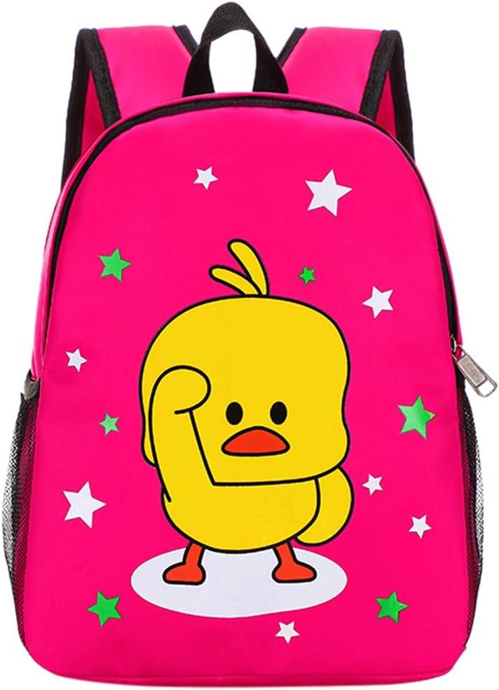 Lanhui Cartoon Cute Kindergarten Student Bag Animation Duckling Boys Girls Bag