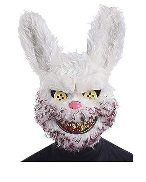 Horror-Shop Máscara de conejo Zombie