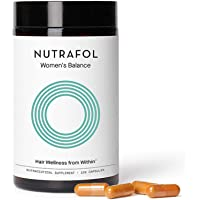 Nutrafol Women's Balance Hair Growth For Thicker, Stronger Hair Peri- and Postmenopause (4 Capsules Per Day - 1 Month…