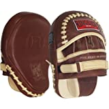 Ringside Heritage Panther Genuine Leather Top Quality Boxing MMA Muay Thai Karate Training Target Focus Punch Pad Mitt