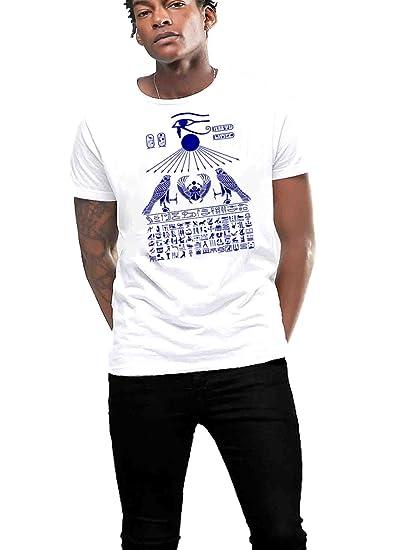 Egyptian Hieroglyphics T Shirt Tattoo King Tut Pharoah Ii Amazoncom