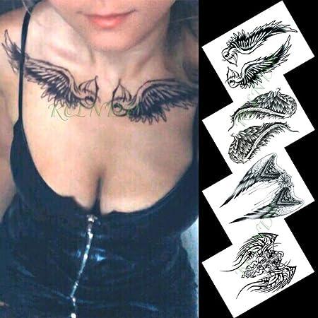 Etiqueta engomada del Tatuaje Temporal a Prueba de Agua Flor de ...