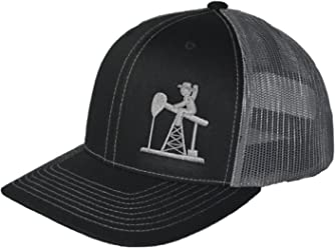 1a5e80316505f8 Oil Field Hats. Pumpjack Cowboy Diesel Trucker, Trucker Style Hat, OSHA