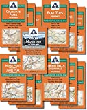 The Colorado Wilderness Map Series, Volume 1 and Rocky Mountain National Park