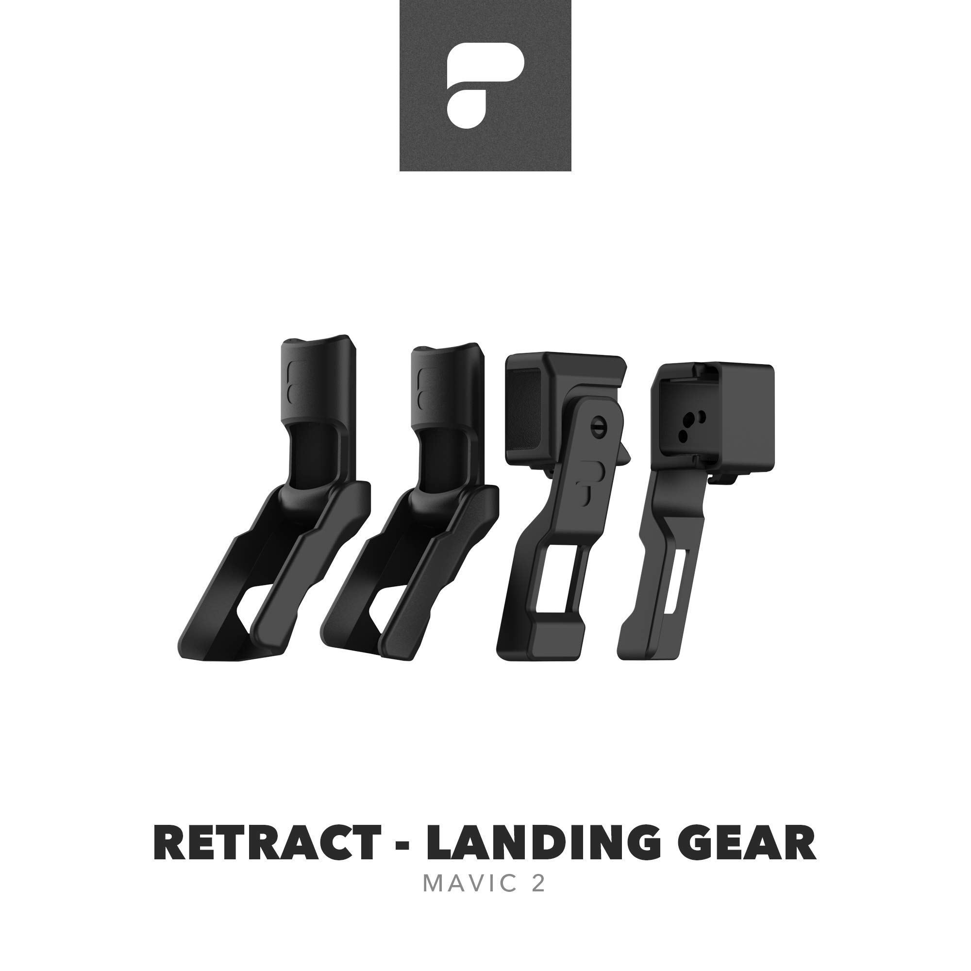 PolarPro Retract Folding Landing Gear for DJI Mavic 2