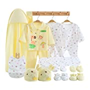 23 Pieces Newborn Girl Clothes, Baby Gifts, Layette Sets 0 3 Months Outfits